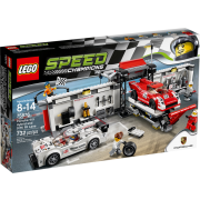 LEGO® Speed Champions 75876 - Porsche 919 Hybrid and 917K Pit Lane
