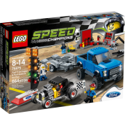 Lego Speed Champions 75875 - Ford F-150 Raptor & Ford Model A Hot Rod
