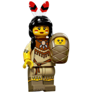 LEGO® Minifigures Serie 15 71011-04 - Indianerin