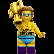 LEGO® Minifigures Serie 15 71011-09 - Wrestling-Champion