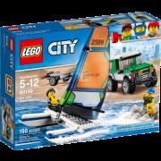 Lego City 60149 - Geländewagen mit Katamaran