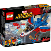 Lego Super Heroes 76076 - Captain America: Düsenjet