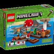 LEGO® Minecraft 21129 - Die Pilzinsel