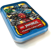 LEGO® NINJAGO® Trading Card Game - Serie 2 - Mini-Tin B blau