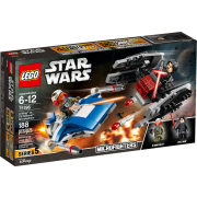 LEGO® Star Wars™ 75196 A-Wing™ vs. TIE Silencer™ Microfighters