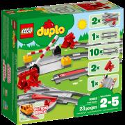 LEGO® DUPLO® 10882 - Eisenbahn Schienen