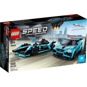 LEGO® Speed Champions 76898 - Formula E Panasonic Jaguar Racing GEN2 car & Jaguar I-PACE eTROPHY