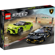 LEGO® Speed Champions 76899 - Lamborghini Urus ST-X & Lamborghini Huracán Super Trofeo EVO