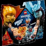 LEGO® NINJAGO® 70684 - Spinjitzu Slam - Kai vs. Eis-Samurai