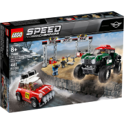 LEGO® Speed Champions 75894 - Rallyeauto 1967 Mini Cooper S und Buggy 2018 Mini John Cooper Works