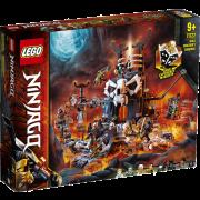 LEGO® NINJAGO® 71722 - Verlies des Totenkopfmagiers