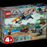 LEGO® Jurassic World 75942 - Velociraptor: Rettungsmission mit dem Doppeldecker
