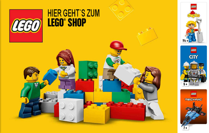 Hier geht´s zum LEGO® Shop